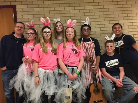 DI Destination Imagination 8th Grade at Affiliate State Competition